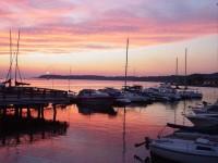 Burlington Boathouse Sunset (user submitted)