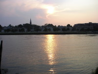 Sunset on the Quinnipiac River (user submitted)