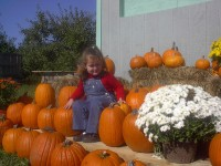 Granddaughter Enjoying a Fall Day (user submitted)