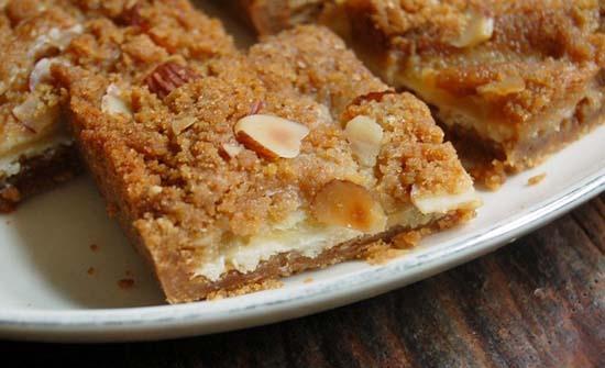 Cheesy Dapper Apple Squares