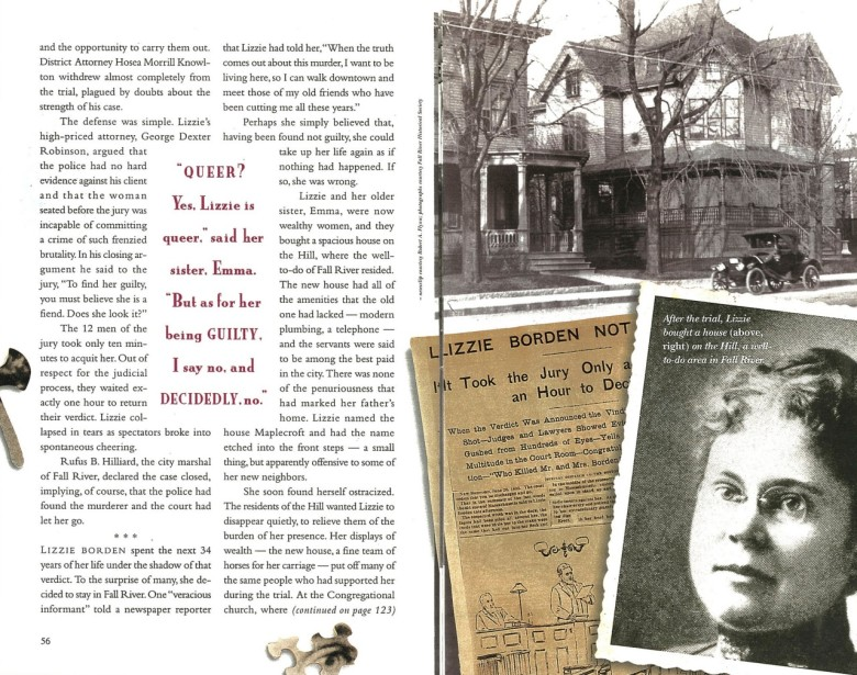 the life and trials of lizzie borden How lizzie borden spent her life after being acquitted after winning the trial of the lizzie often traveled to boston and new york to go to the theater and.