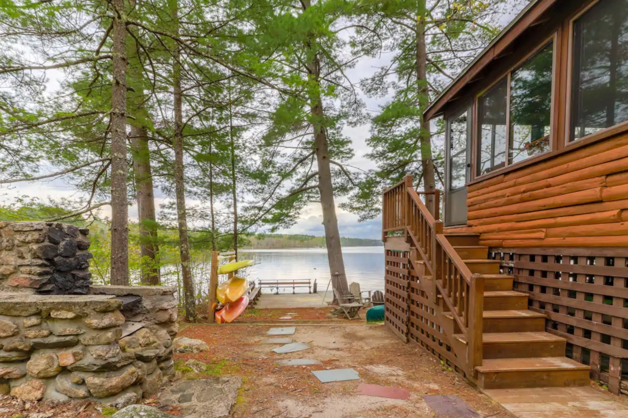Maine Lake Cabin Rentals   20 Waterfront Retreats   New England Today