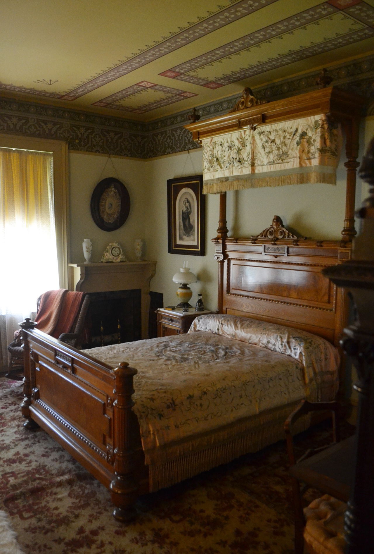 "Also on the second floor was the room Clemens referred to as ""Ma's bedroom,"" in honor of its most frequent occupant, Livy's widowed mother."