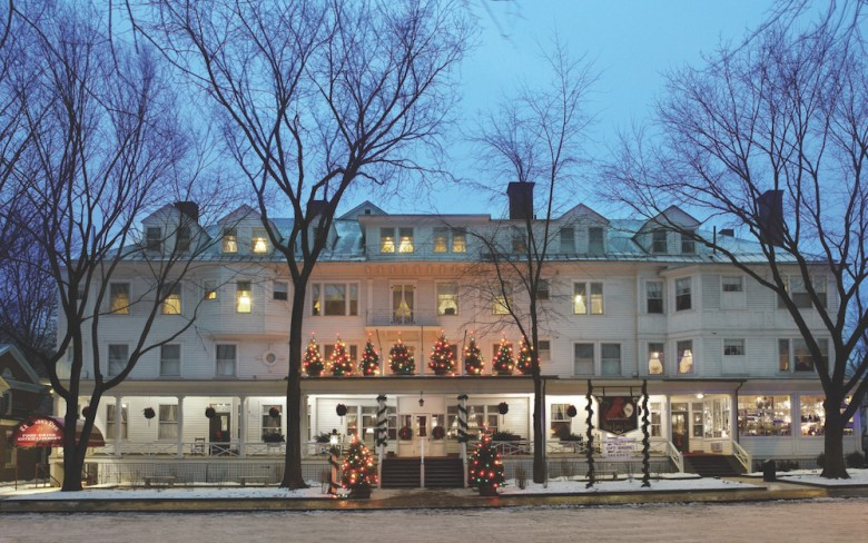 red lion inn new england christmas getaways