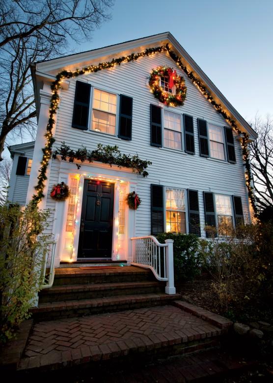 New England Holiday House Tours Design Inspiration New England