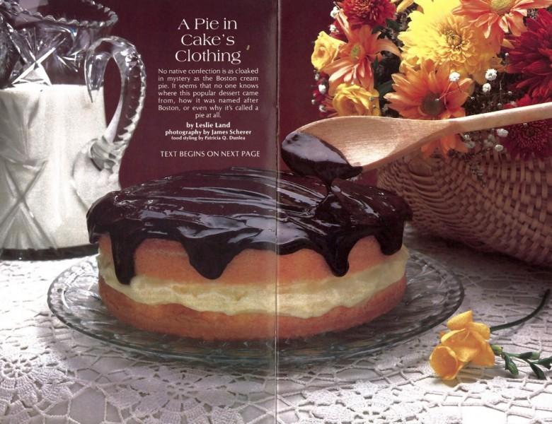 Origins Of Boston Cream Pie History