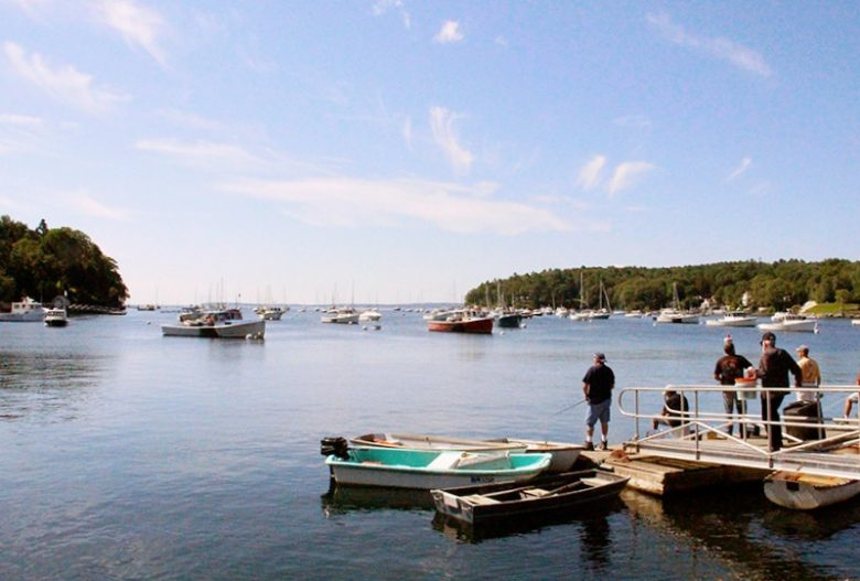 Rockport Harbor in Rockport, Maine