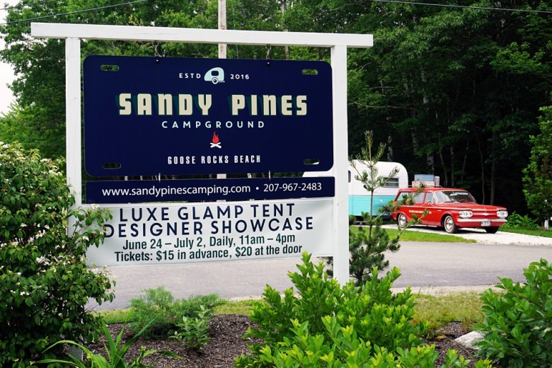Sandy Pines Campground in Kennebunkport, Maine