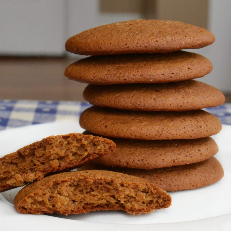 Sister Minnie's Soft Ginger Molasses Cookies