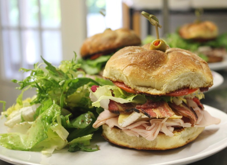 Rustic Roots' Maple-Bourbon Turkey Sandwich | Things to Do in Shelburne, VT