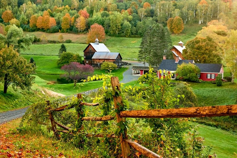 Sleepy Hollow Farm in Pomfret, Vermont