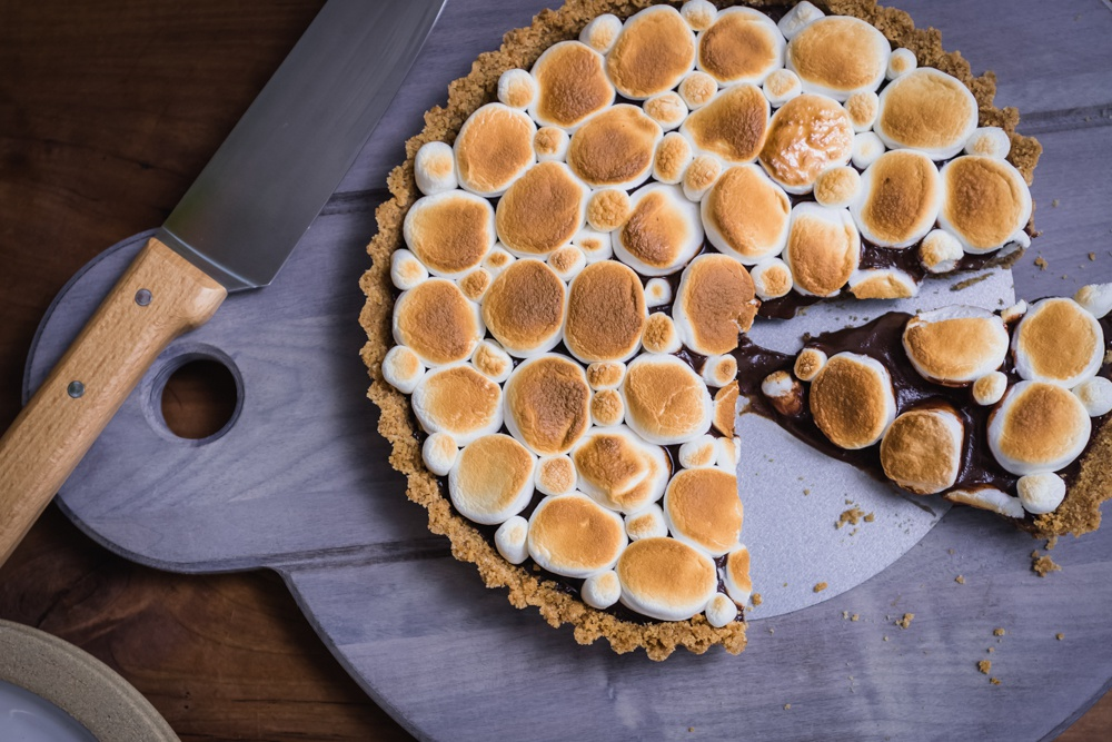 s mores tart recipe weekends with yankee