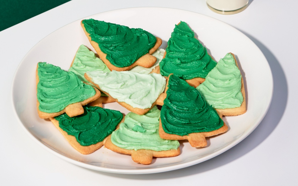 Sour Cream Sugar Cookie Trees Recipe Yankee Magazine