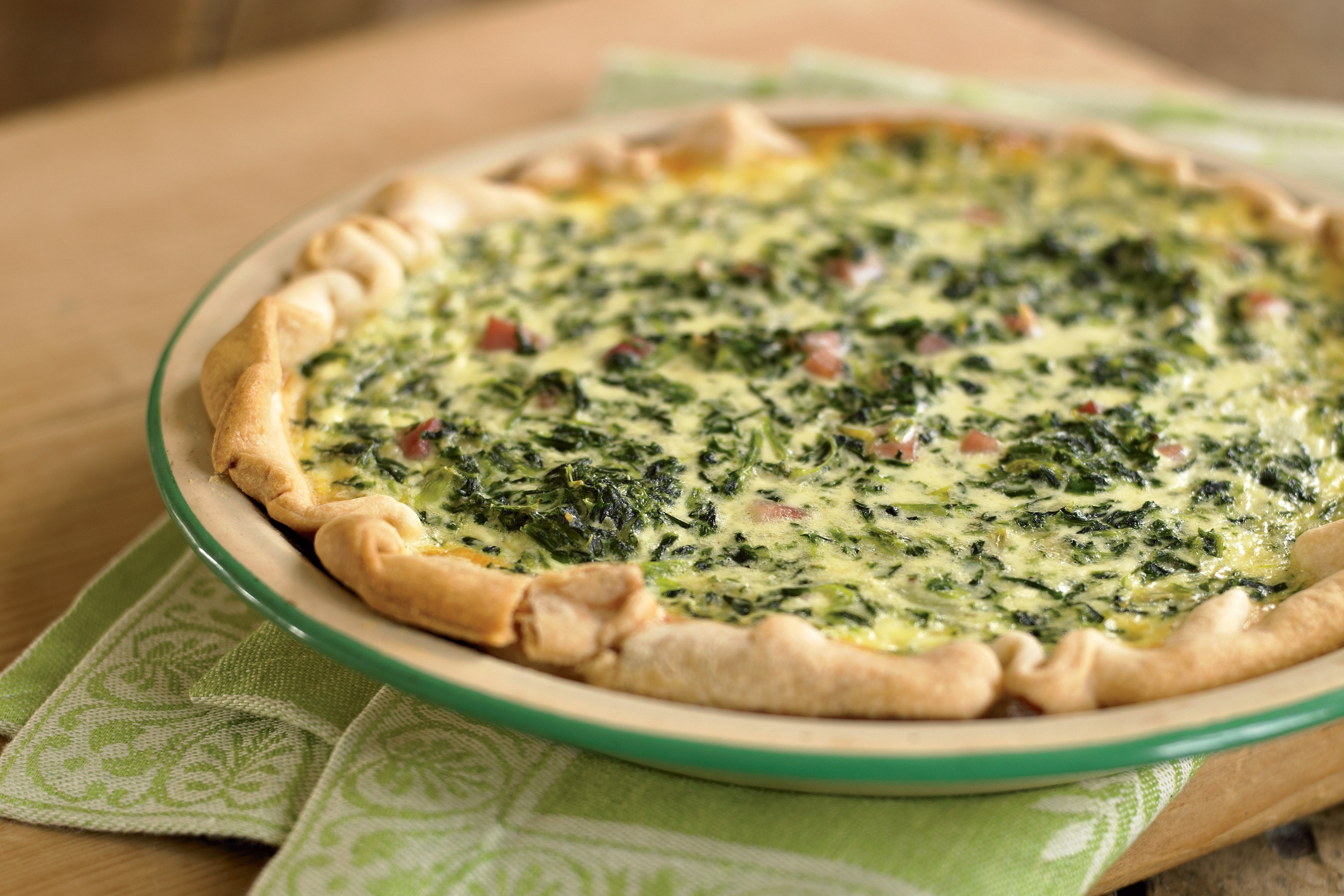 Spinach Quiche Recipe Yankee Magazine