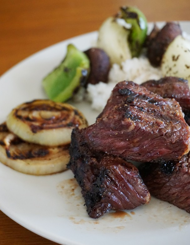 When it comes to steak tip marinade recipes, these Brown Sugar Bourbon Steak Tips are reader-approved.