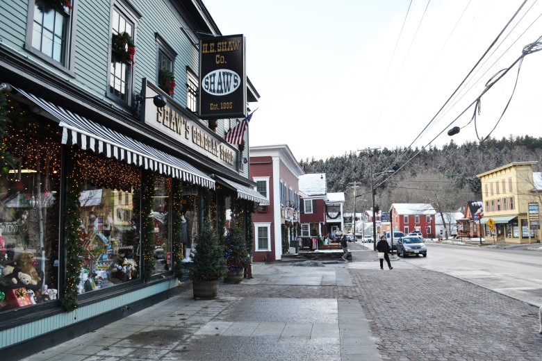 Scenes from downtown Stowe - a Vermont vacation favorite.