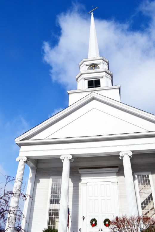 The Stowe Community Church has to be one of the most photographed churches in New England.