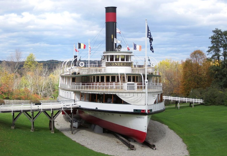 Ticonderoga steamship shelburne museum things to do in shelburne, vt