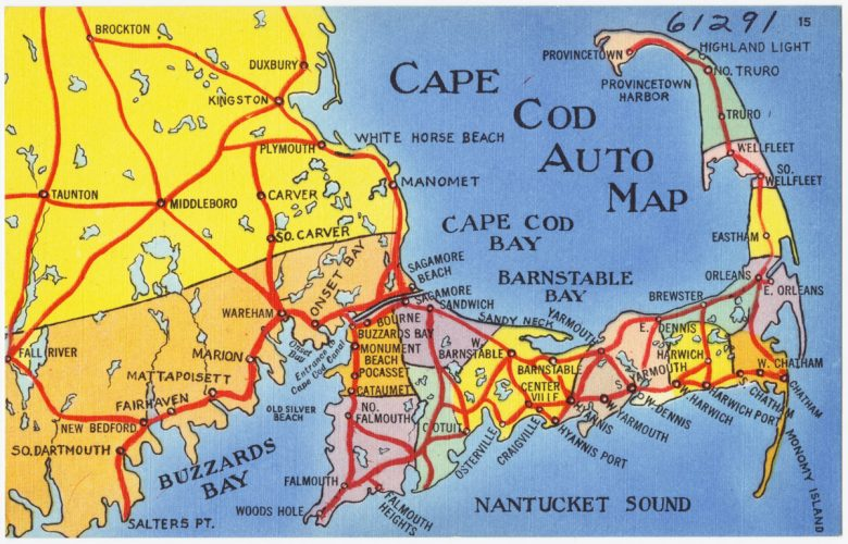 Where Is Cape Cod Cape Cod Vacation Guide New England Today - Cape-cod-on-us-map