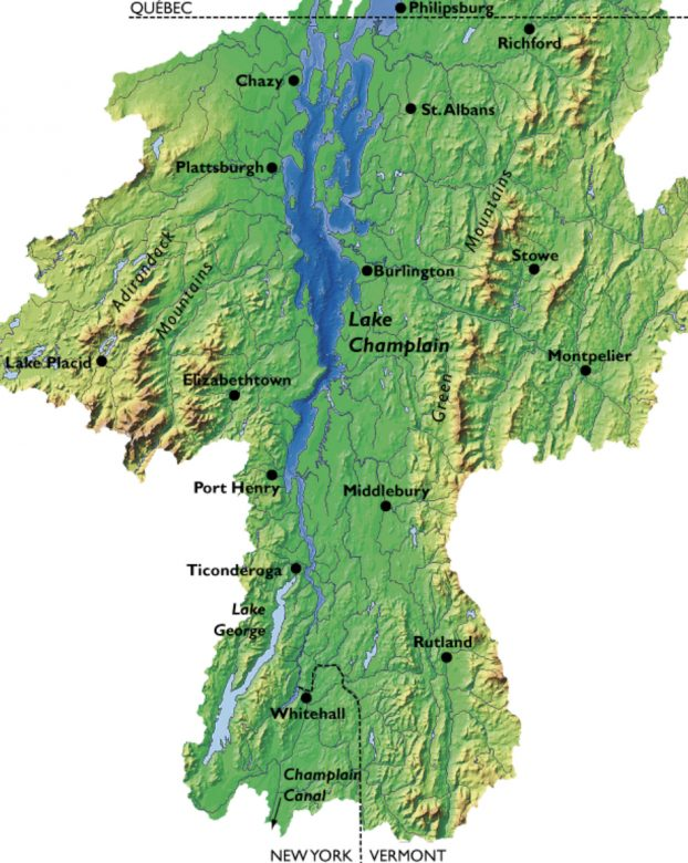 Where Is Lake Champlain A Travel Guide New England Today - Lake-champlain-on-us-map