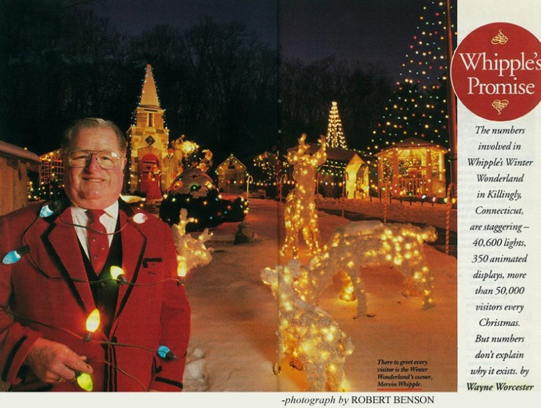 Whipple's Winter Wonderland Holiday Light Display in Killingly, CT | <i>Yankee</i> Classic