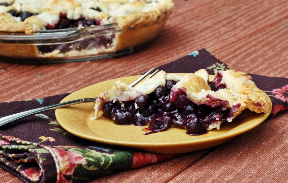 Maine Wild Blueberry Pie Recipe - Yankee Magazine